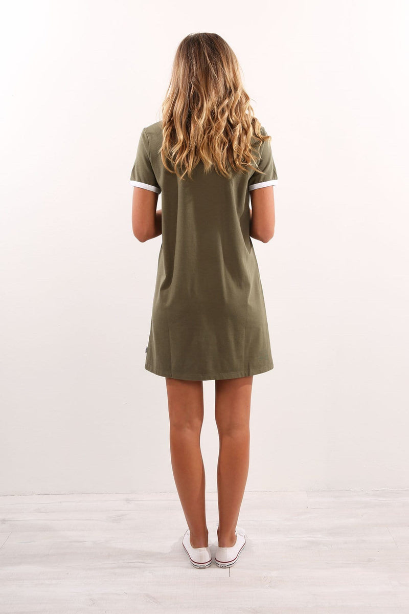 Nice Day Dress Cool Military Khaki RVCA - Jean Jail