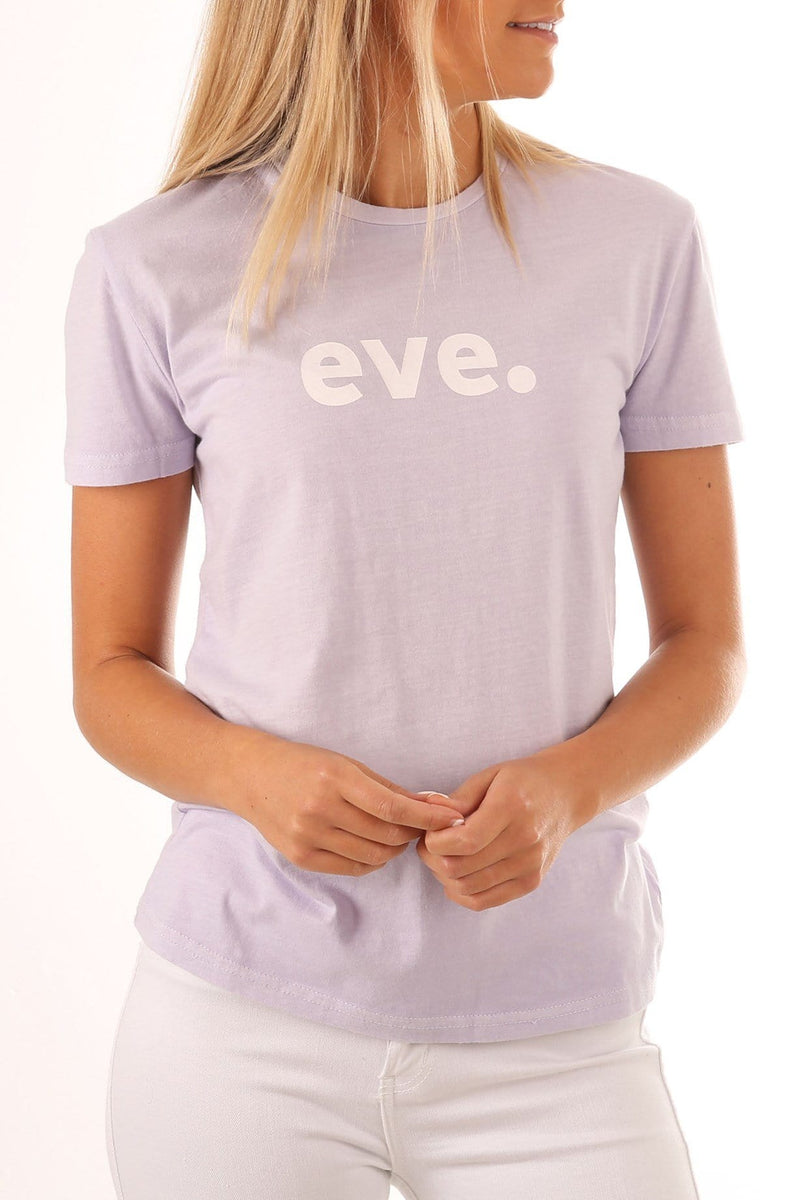 Eve Icon Tee Mauve All About Eve - Jean Jail