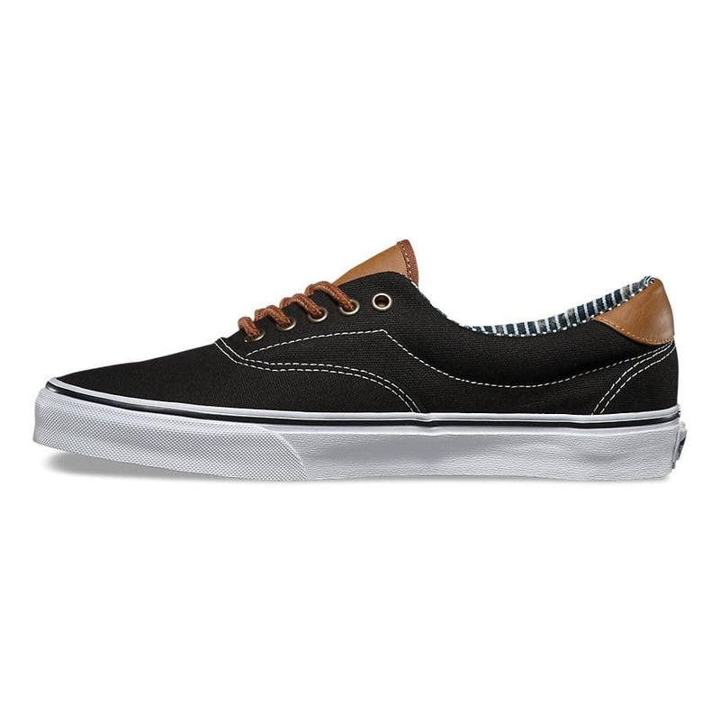 Era 59 (C&L) Black Stripe Denim Vans - Jean Jail