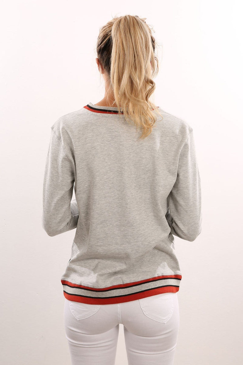 Squad Crew Neck Sweat Grey Marle Afends - Jean Jail