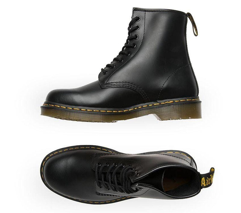 1460Z DMC 8-Eye Boot Black Smooth
