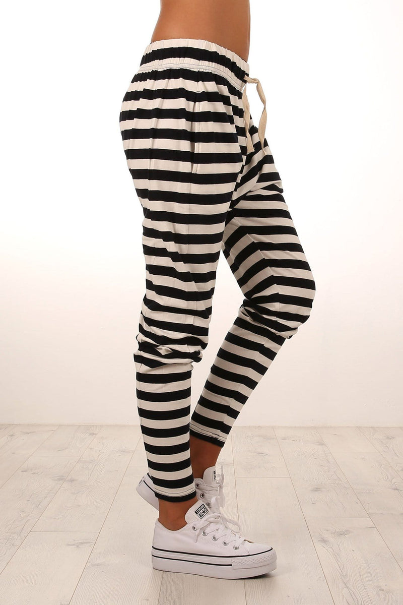 Fluid Stripe Pant Ink White Stripe Silent Theory - Jean Jail