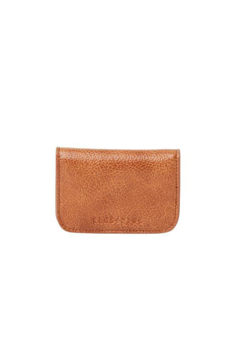 New York Card Holder Tan Pebble Elms & King - Jean Jail