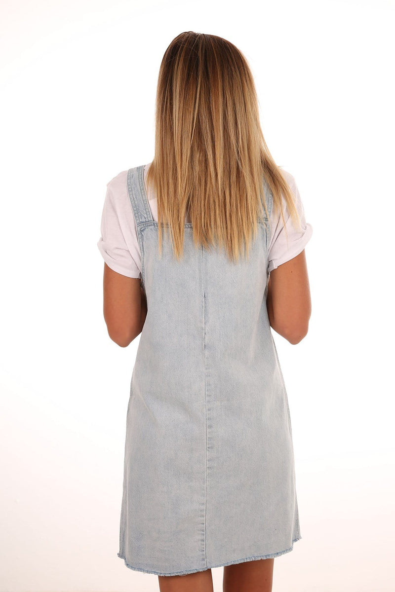 Denim Dress Sea Blue