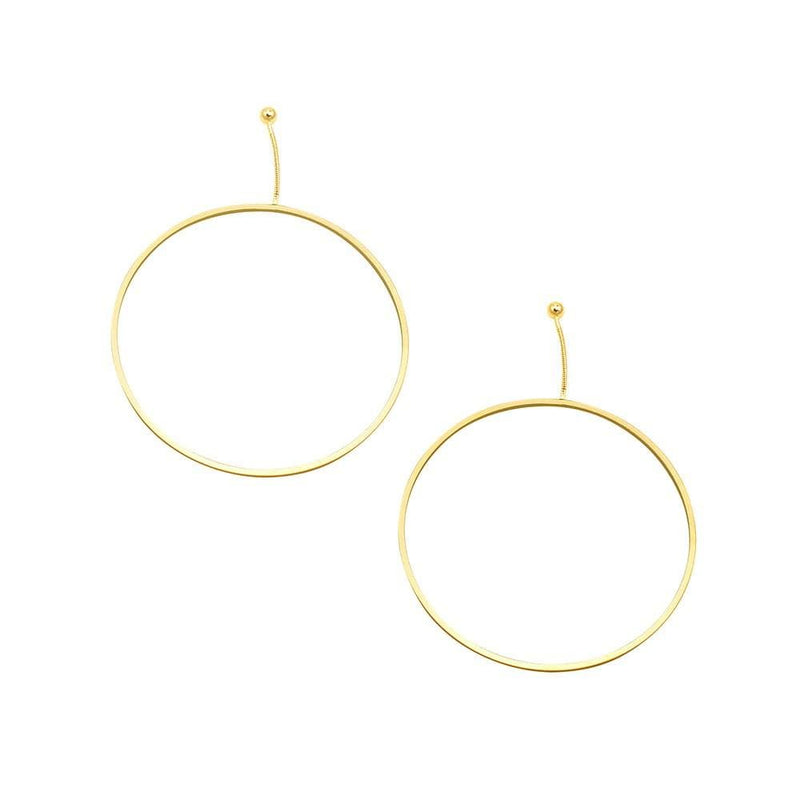 Maggie Earrings Gold Jolie & Deen - Jean Jail