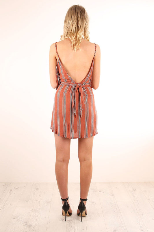Those Who Wait Playsuit Rust