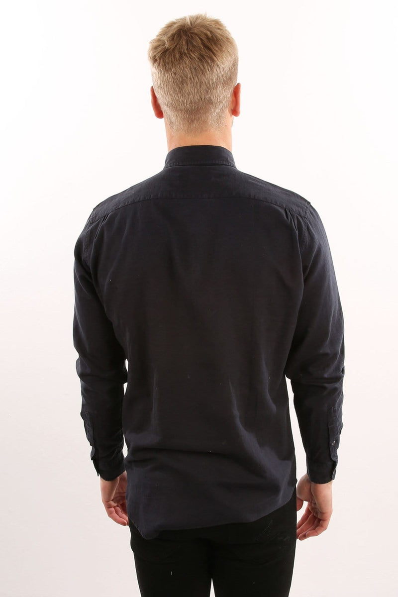 Isolation Long Sleeve Shirt Navy Assembly Label - Jean Jail