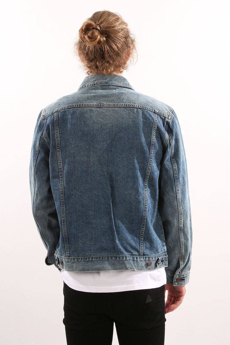 Denim Trucker Jacket Roadhouse Blues Wrangler - Jean Jail