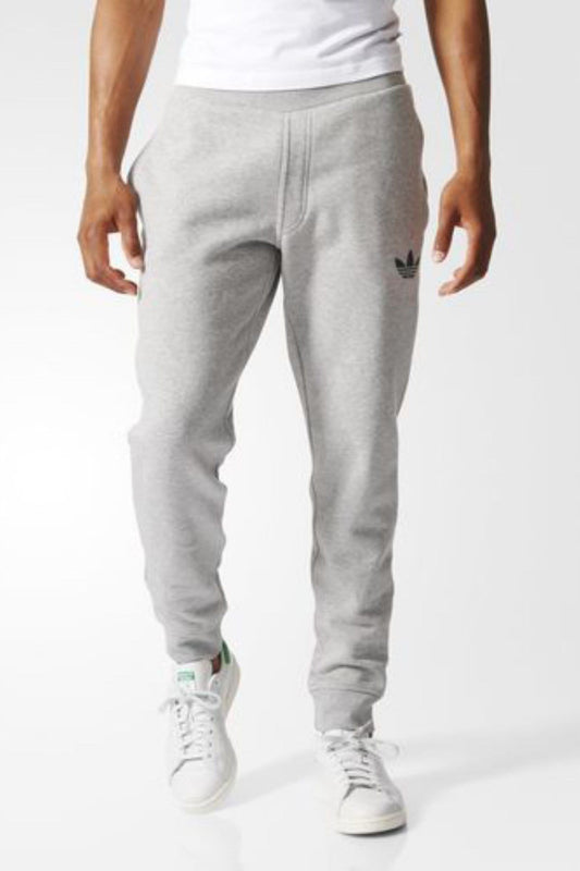 6169bd2e adidas - Fitted 2.0 Sweat Pants Mid Heather Grey adidas - Jean Jail