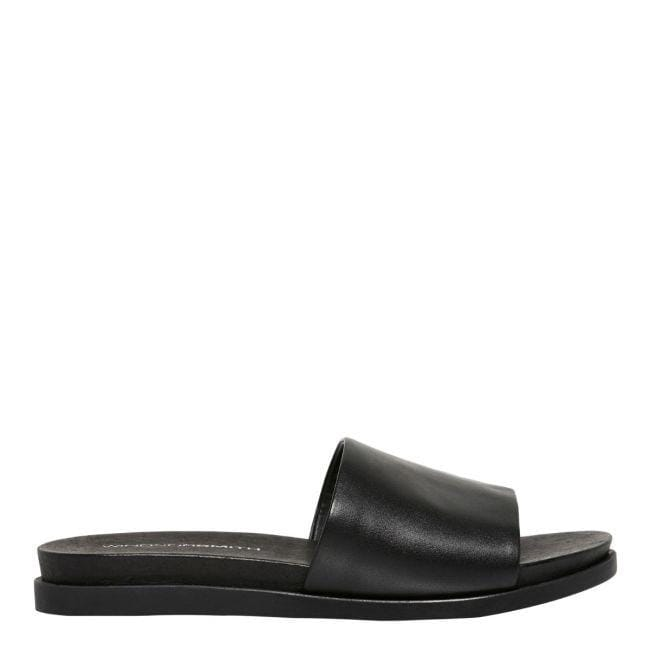 Luella Flat Black Leather Windsor Smith - Jean Jail