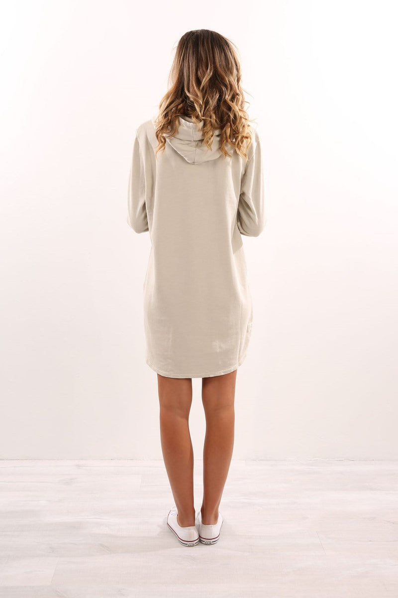 Valeria Hoody Dress Bone All About Eve - Jean Jail