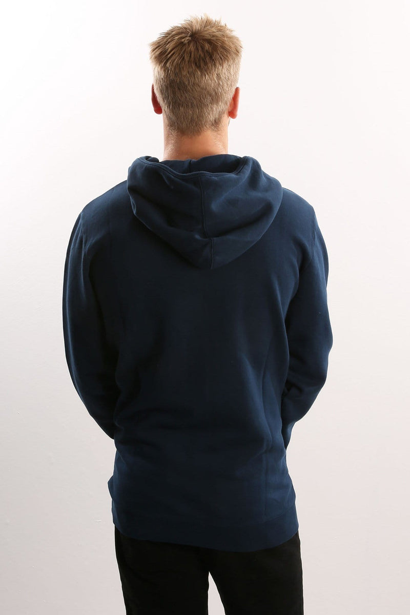 Line Dance Pullover Hood Oil Navy