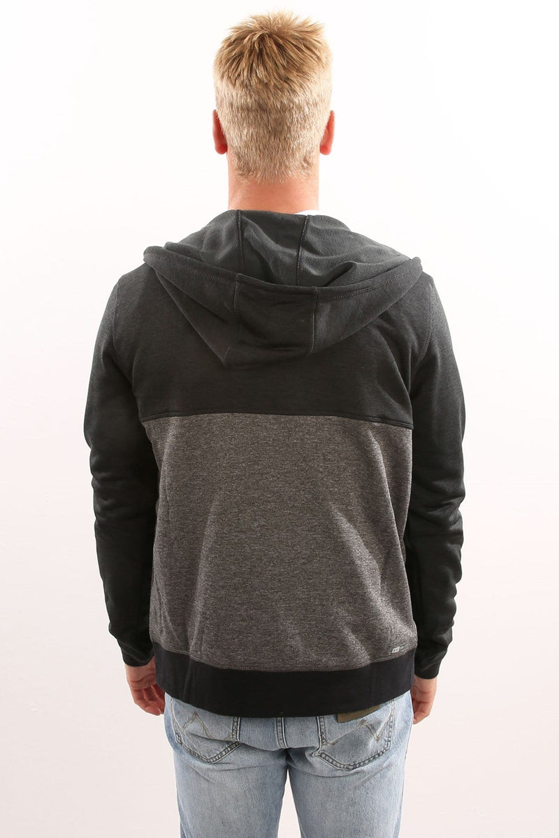 Dri-Fit Disperse Blocked Zip Fleece Black Hurley - Jean Jail