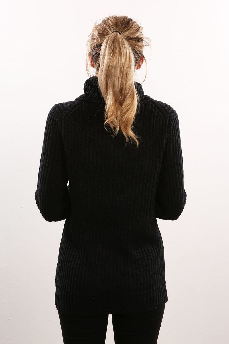 Holidays Knit Black All About Eve - Jean Jail