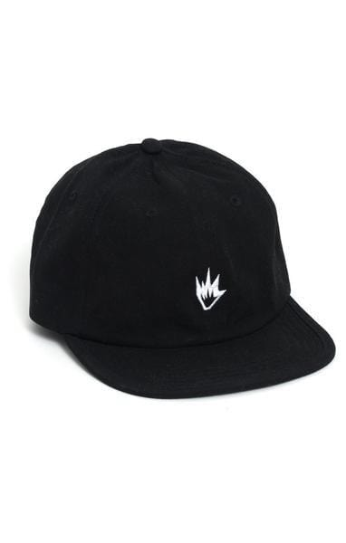 Flame Soft Brim 6 Pannel Cap Black Afends - Jean Jail