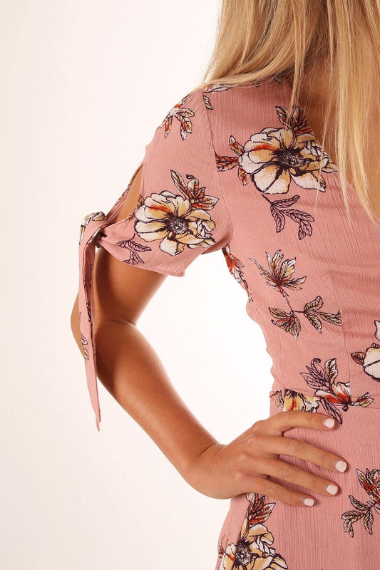 Sunset Views Dress Pink