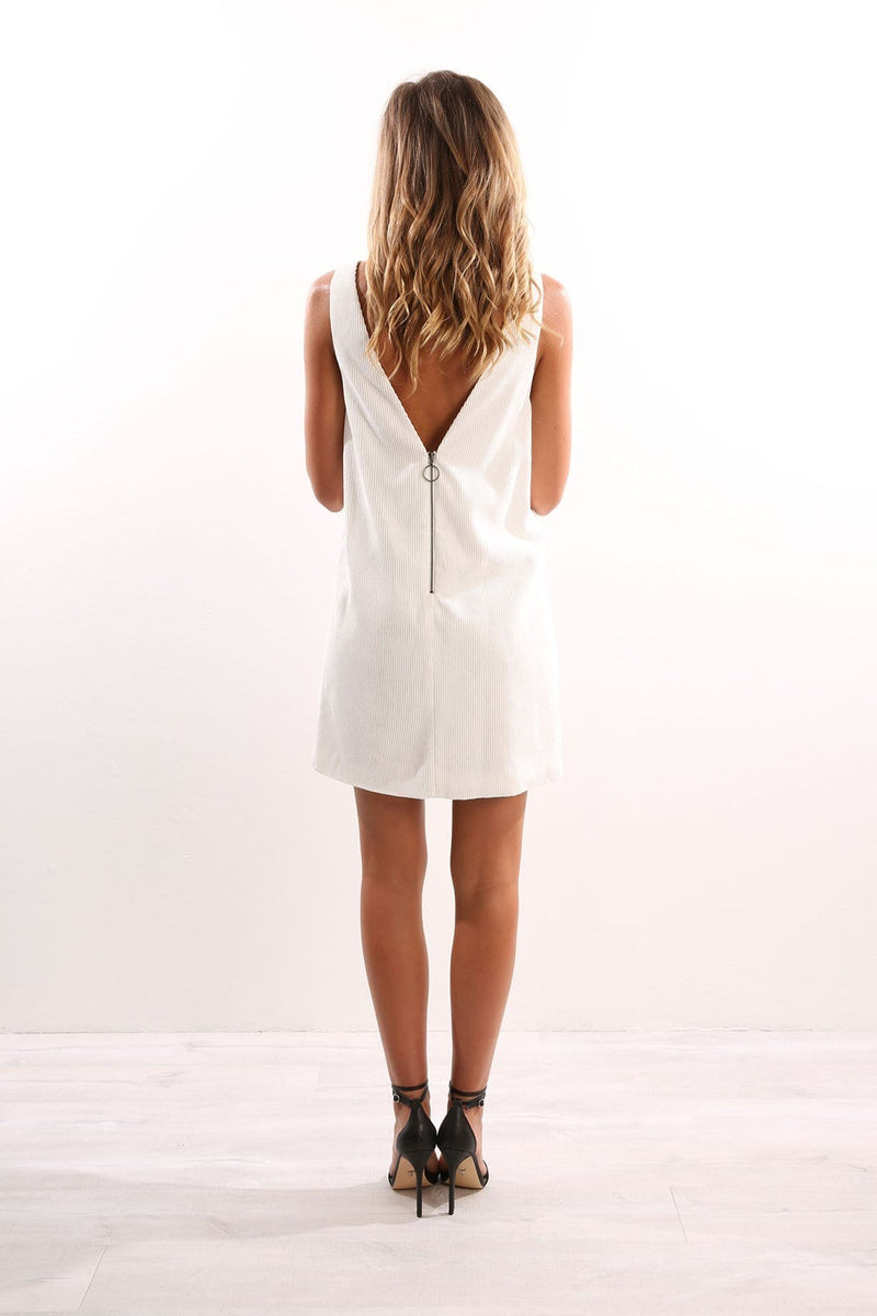 Oracle Dress Off White