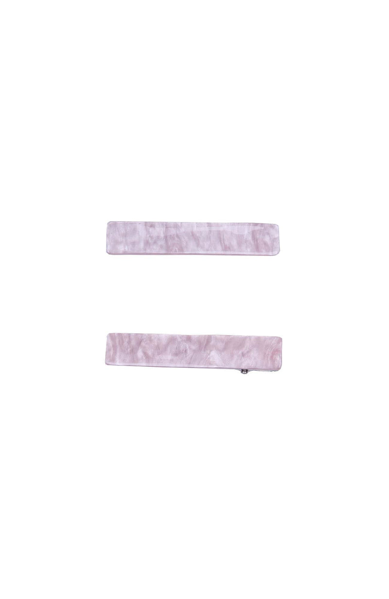 Edith Hair Clip Set Pink Jean Jail - Jean Jail