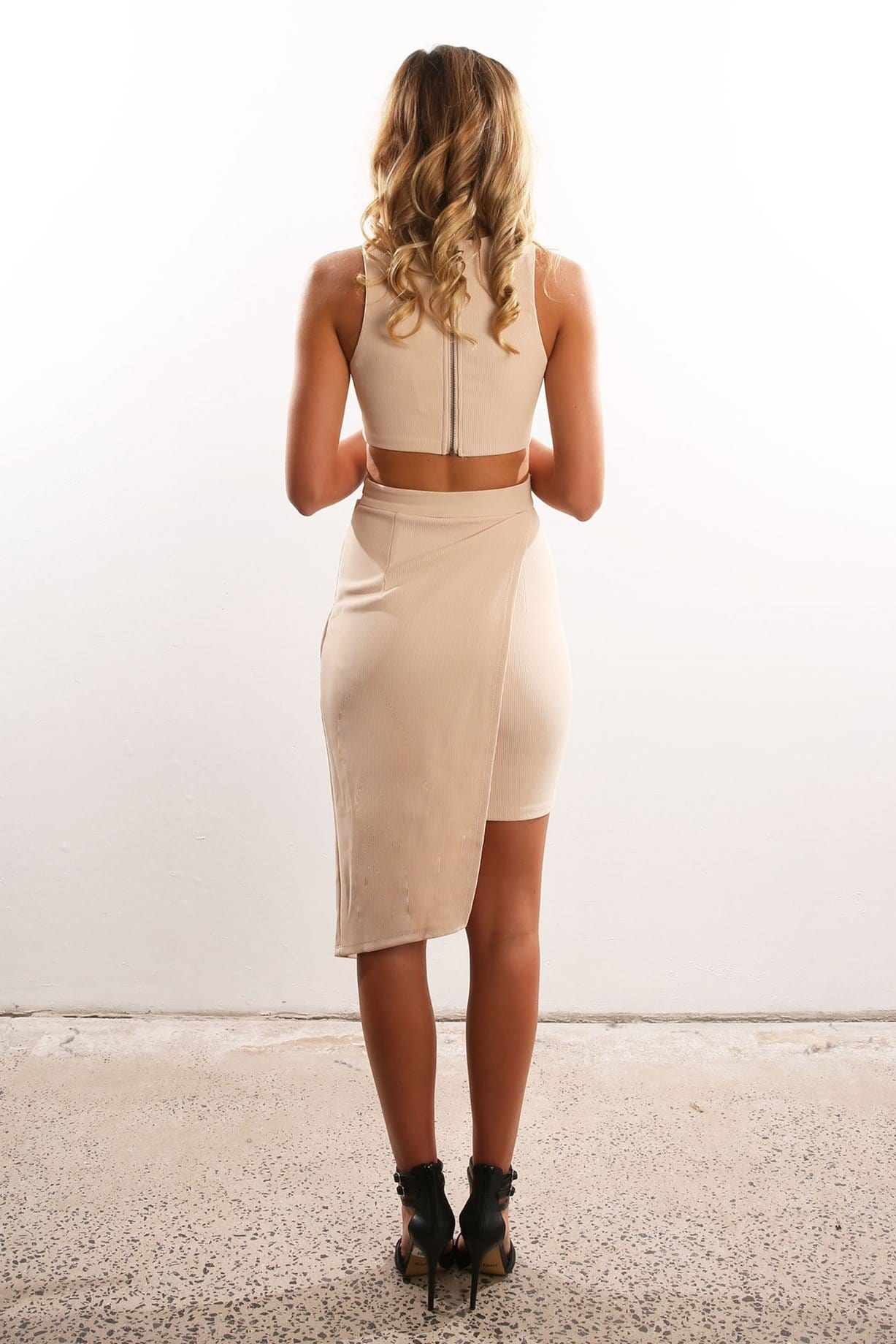 Vixen Dress Nude