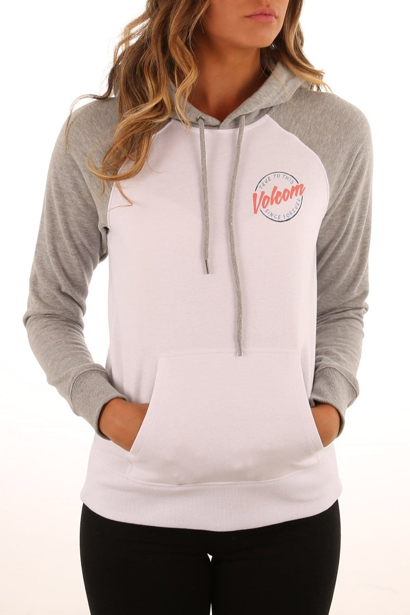 Hit The Back Hoody Heather Grey Volcom - Jean Jail