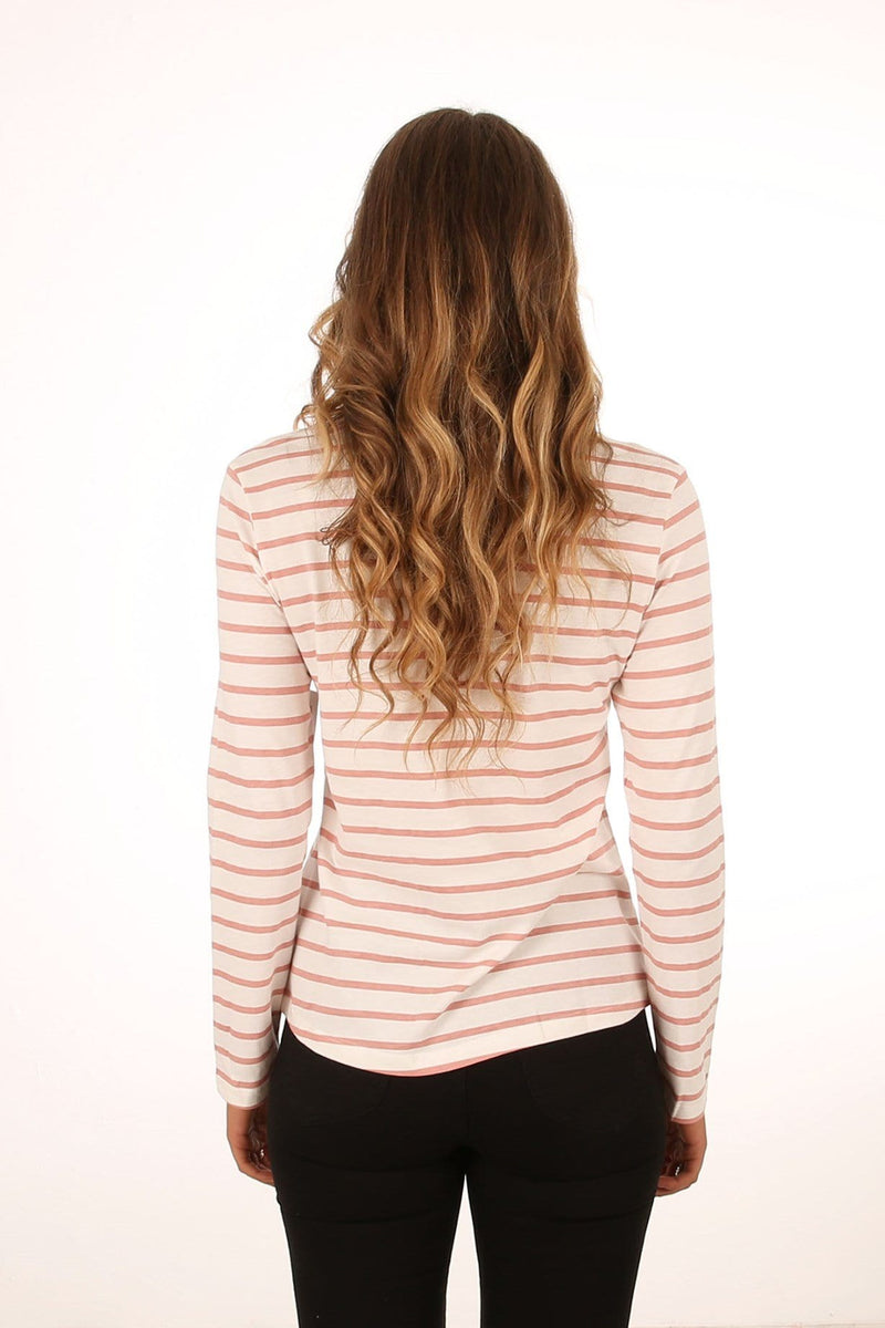 Hurley Co Long Sleeve T-Shirt Rust Pink Hurley - Jean Jail