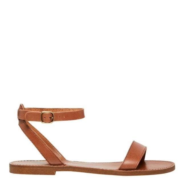 Birch Sandal Tan Leather Windsor Smith - Jean Jail
