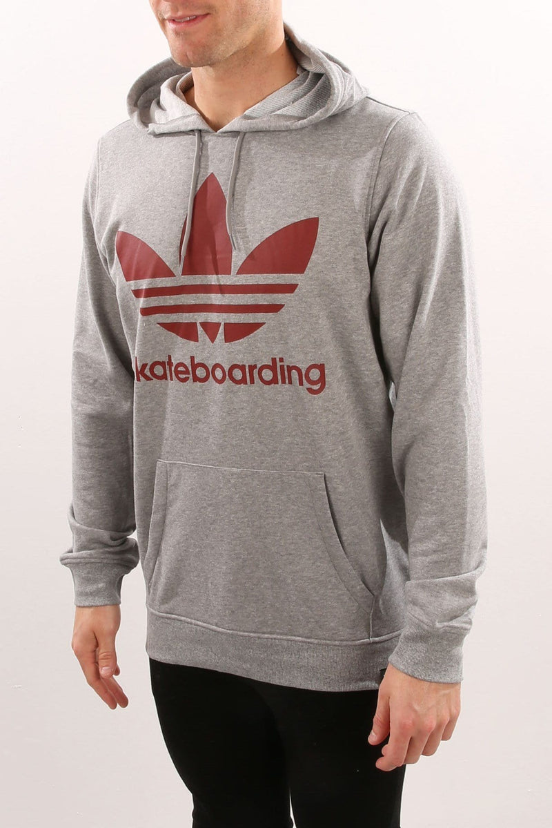 Clima 3.0 Hoodie Core Heather Mystery Red adidas - Jean Jail
