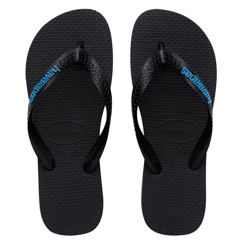 Filete Rubber Logo // Black Blue Havaianas - Jean Jail