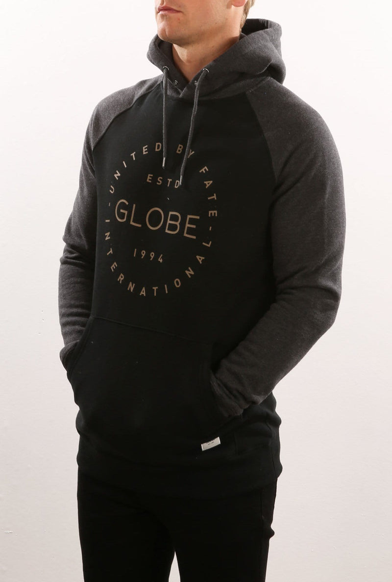 Windsor Hoody II Black Globe - Jean Jail