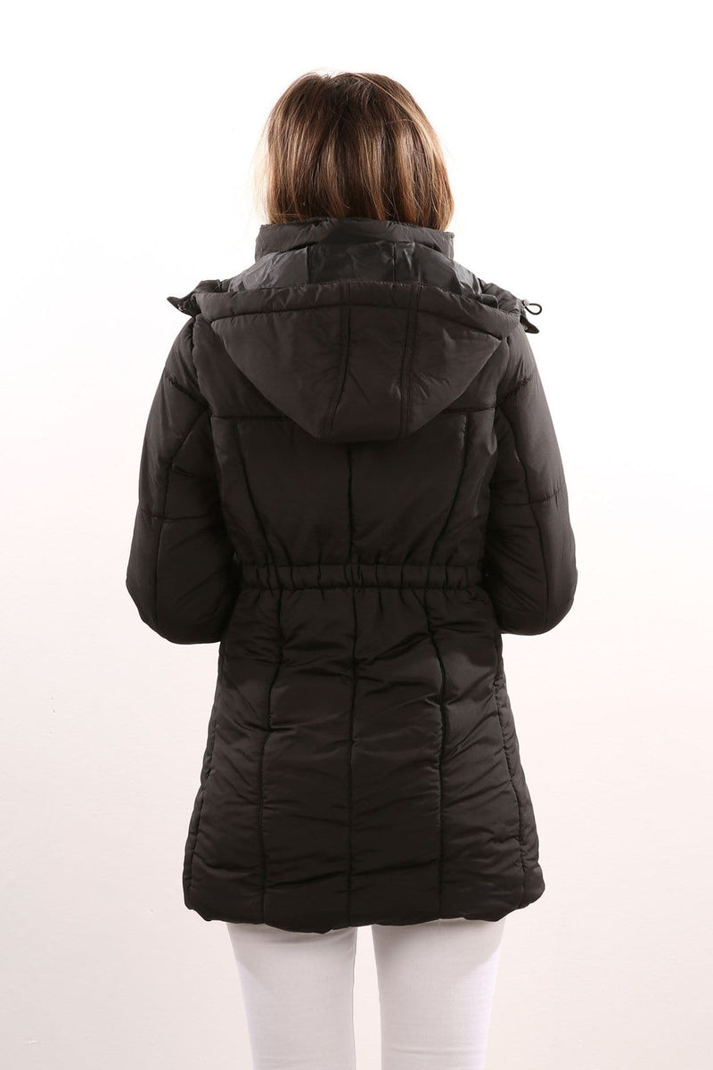Walker Puffa Jacket Black All About Eve - Jean Jail