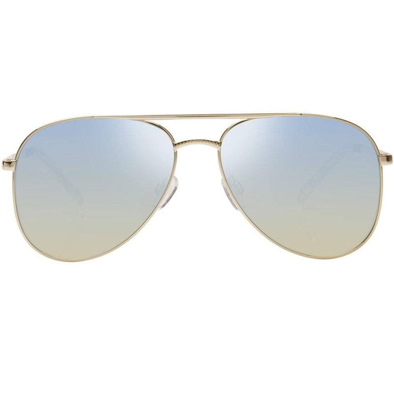 Kingdom Bright Gold // Blue Mirror Le Specs - Jean Jail