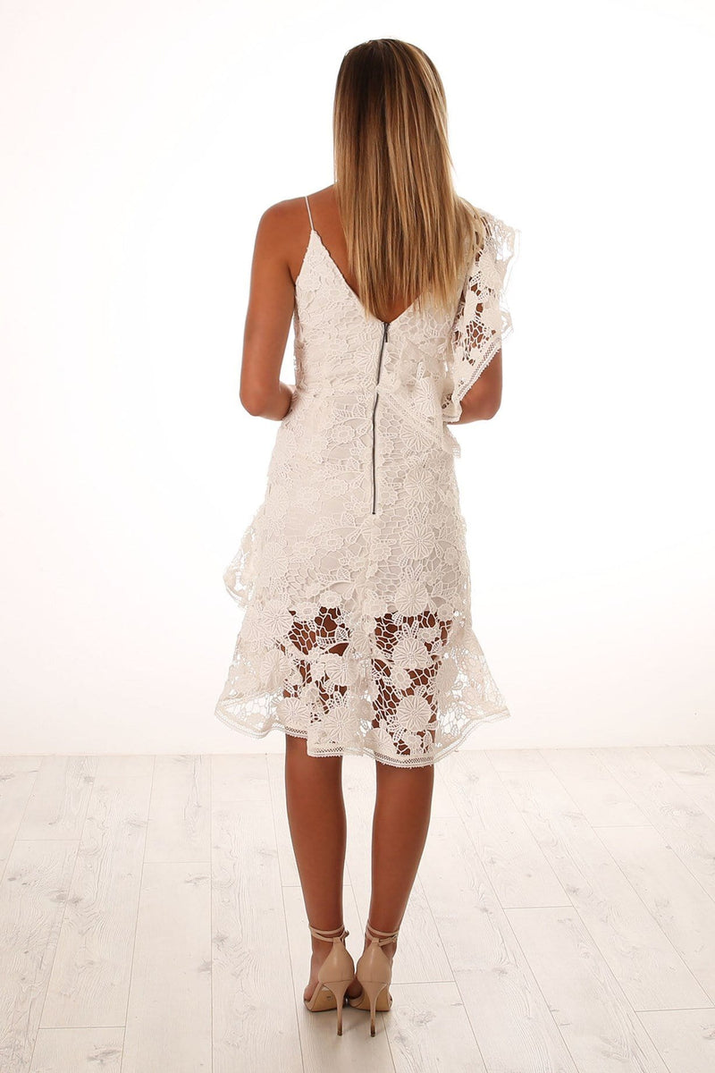 Frameless Dress Ivory