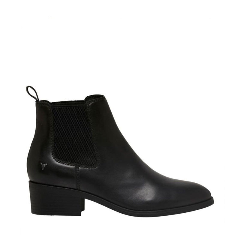 Ravee Boot Black Leather Windsor Smith - Jean Jail