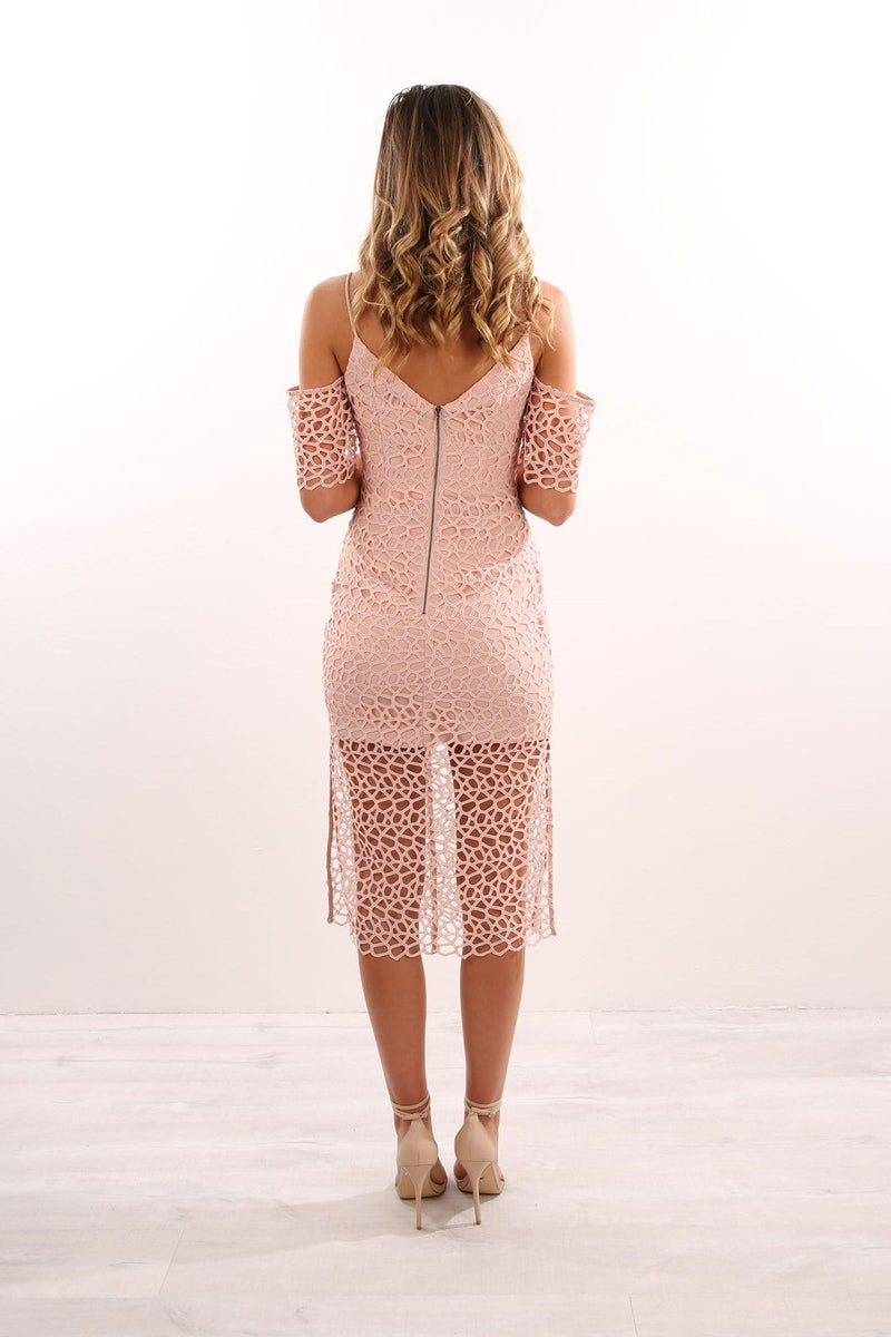 Countdown Lace Dress Blush Keepsake - Jean Jail