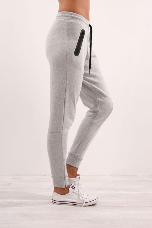 Easton Trackpant Grey Marle