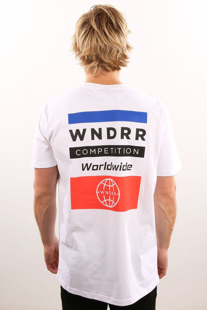 Competition Custom Fit Tee White WNDRR - Jean Jail