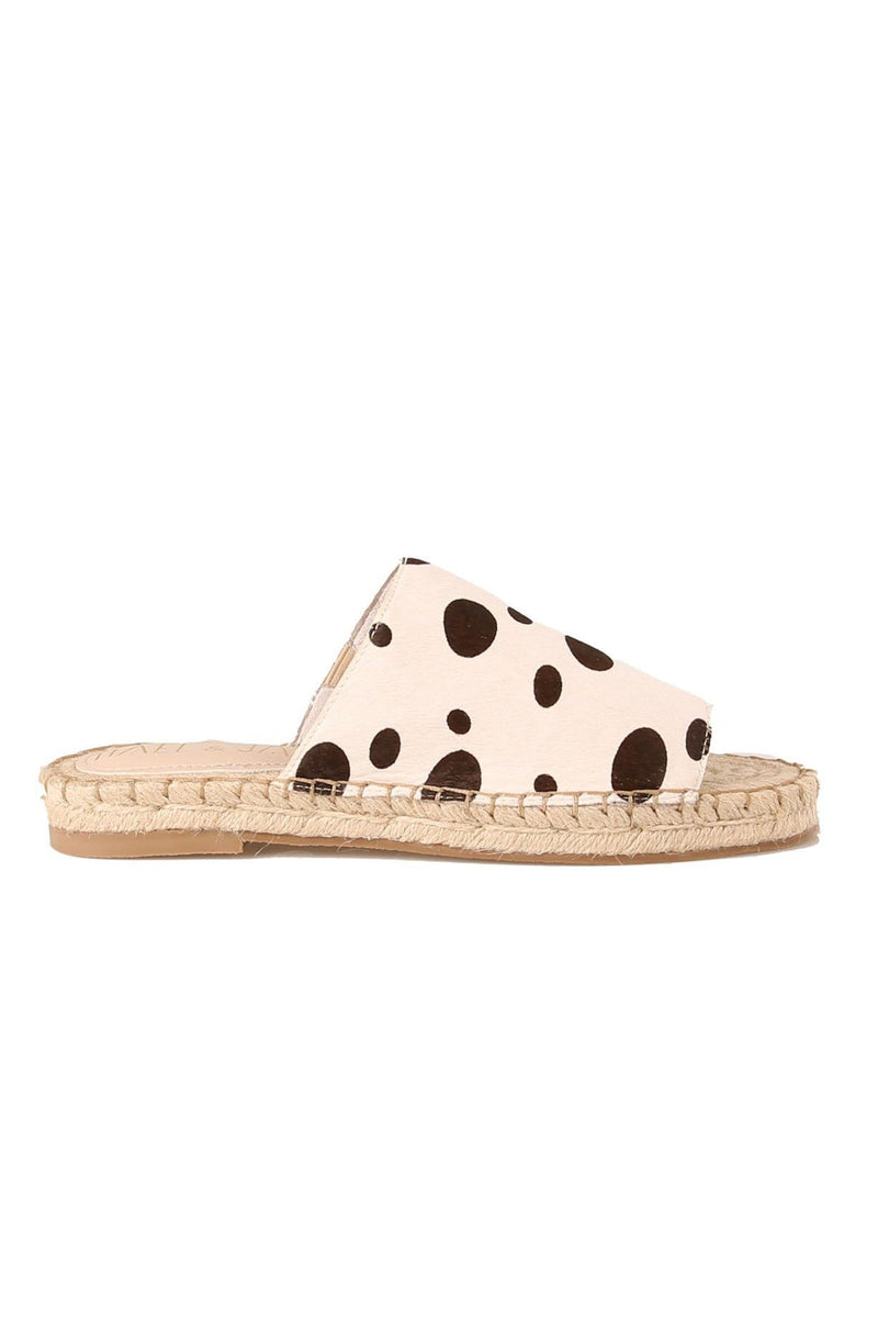 Misty Sandal Black White Big Dot Pony Hael & Jax - Jean Jail