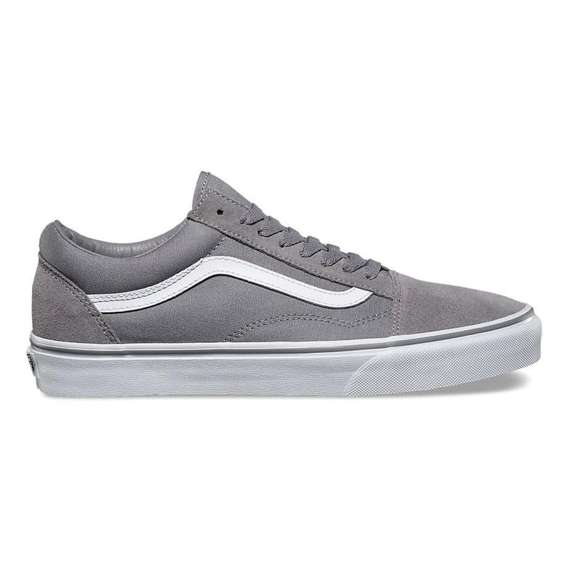 Old Skool Grey Suede Vans - Jean Jail