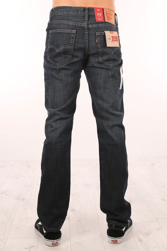 516 Slim Straight Jean Dark Petrol