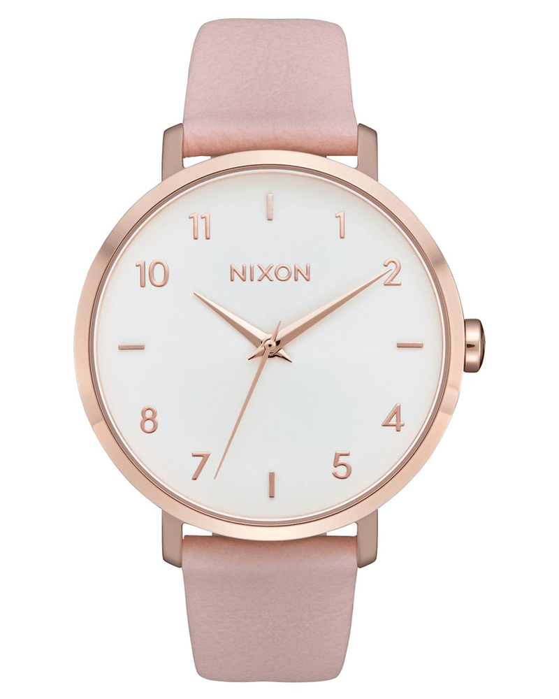 Arrow Leather Rose Gold // Light Pink Nixon - Jean Jail