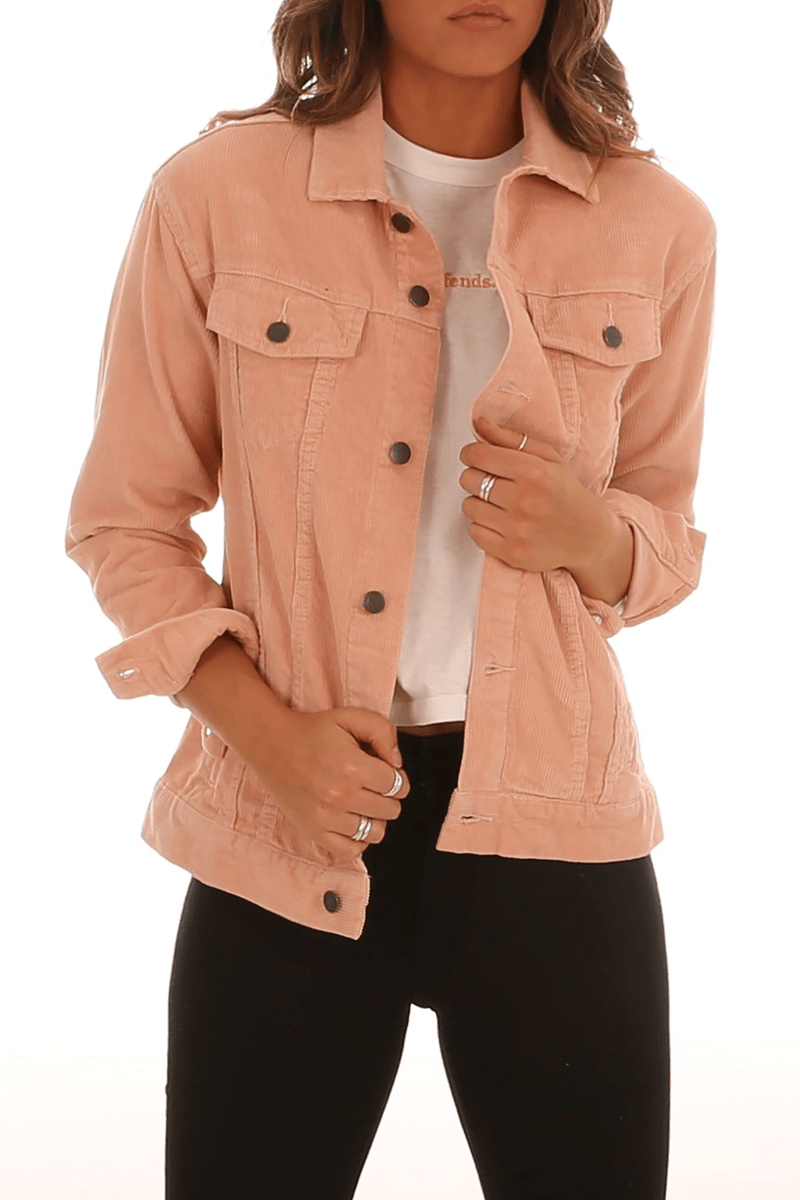 Henrie Corduroy Jacket Rose Afends - Jean Jail