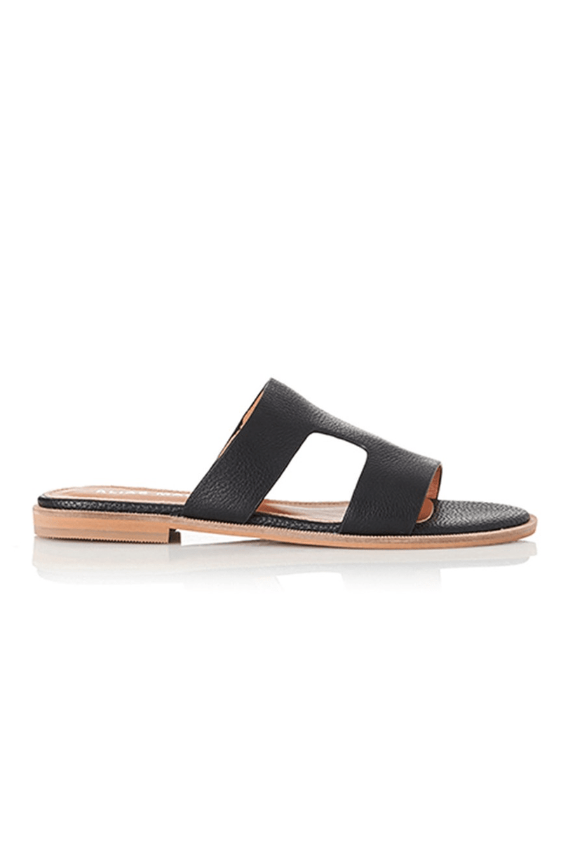 Thaia Sandal Black Tumble Alias Mae - Jean Jail