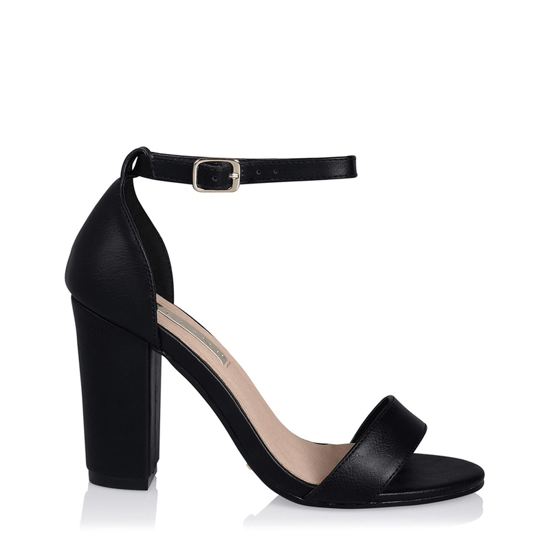 Aurella Heel Black Nubuck Black Billini - Jean Jail