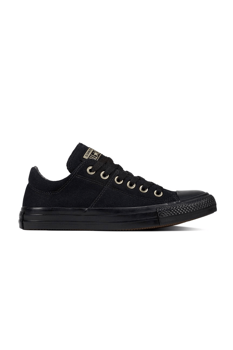 Chuck Taylor All Star Madison Croc Canvas Low Top Black Converse - Jean Jail