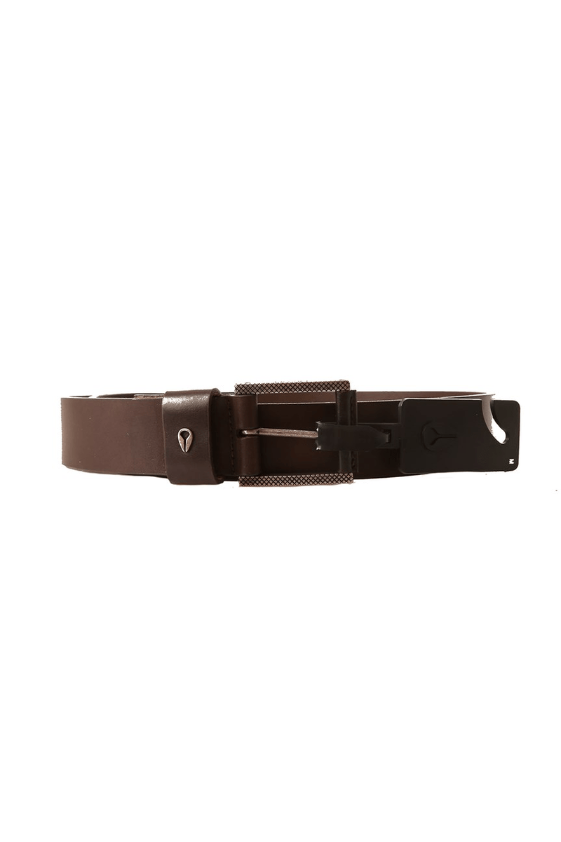 Americana Belt II Dark Brown Nixon - Jean Jail