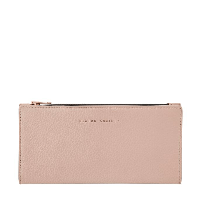 In The Beginning Wallet Dusty Pink Status Anxiety - Jean Jail