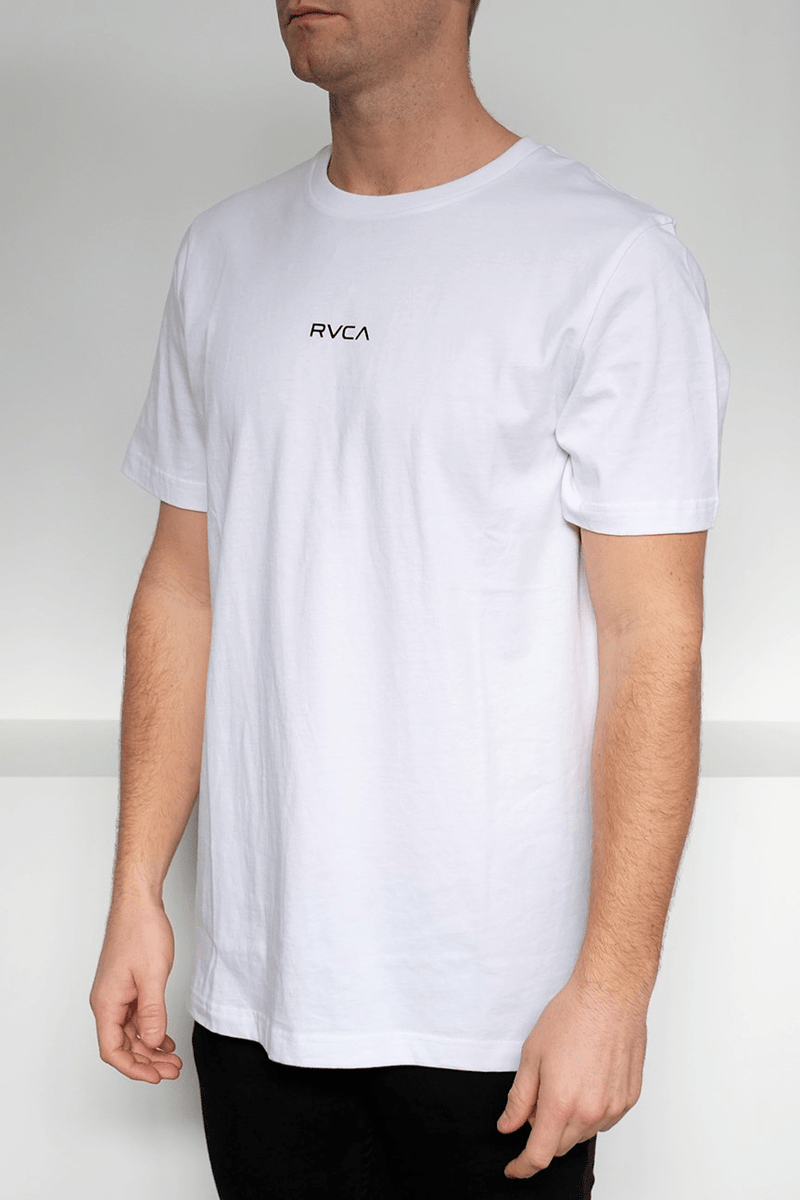 Mini RVCA Tee White RVCA - Jean Jail