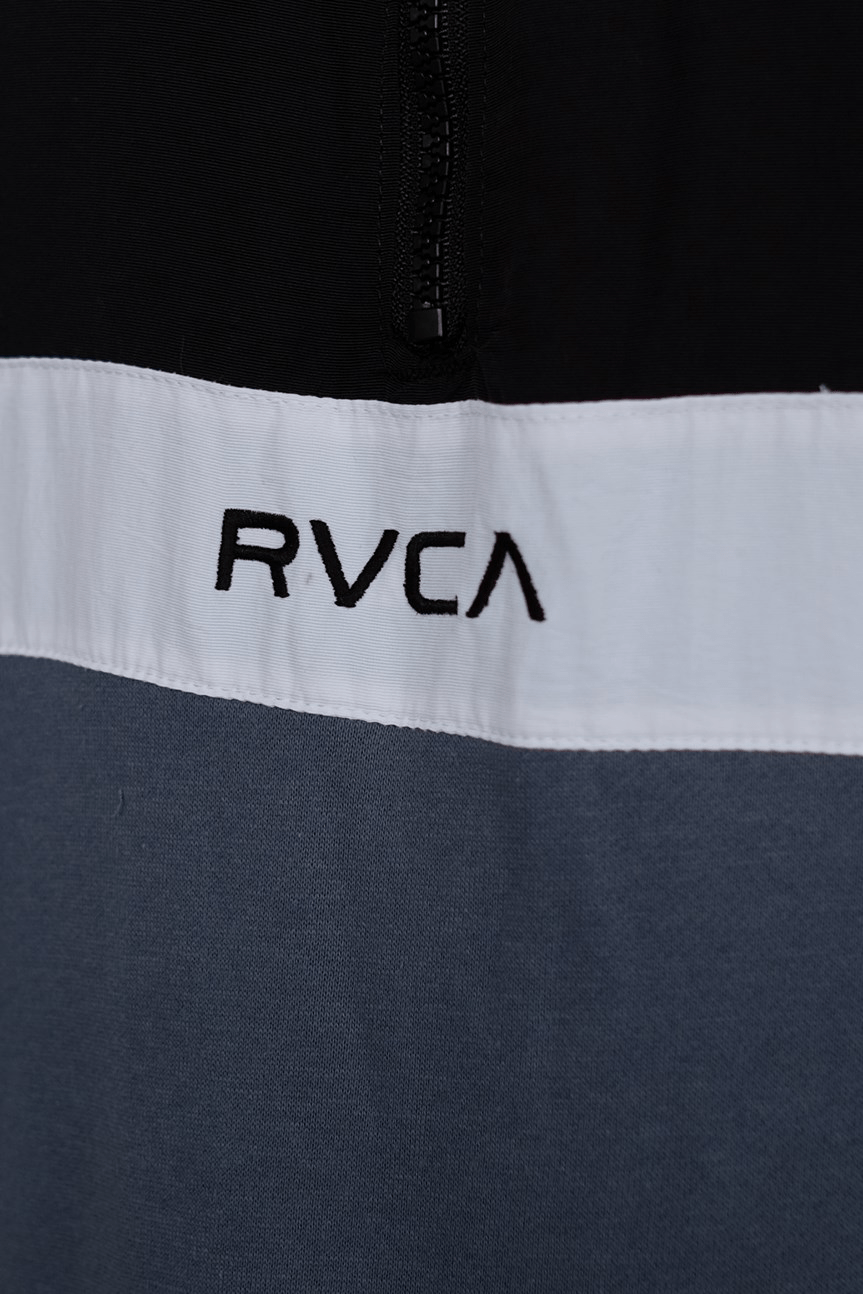 RVCA Apex Pullover Jacket Black