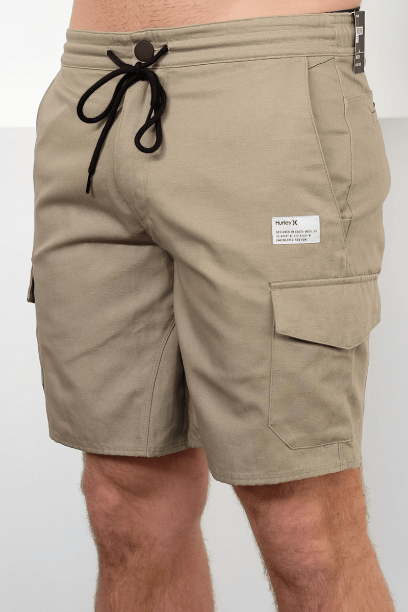Marsh Cargo 17IN Walk Short Khaki Hurley - Jean Jail