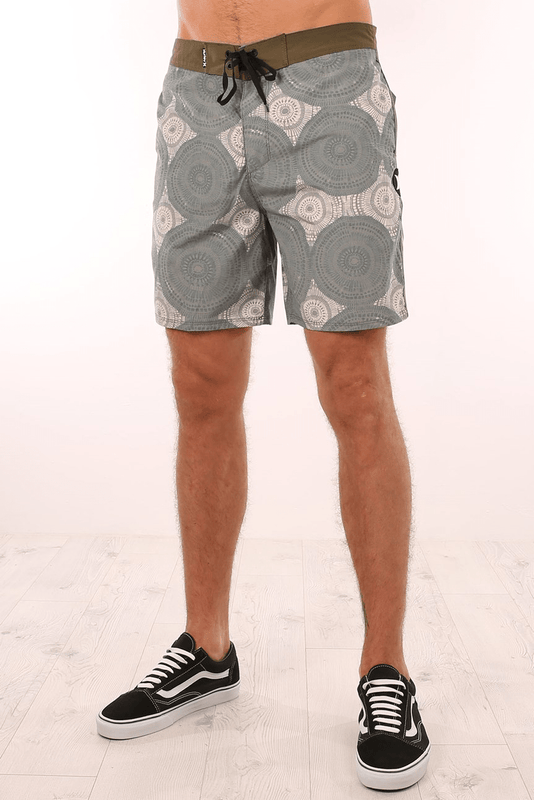 Beachside Kolide Boardshort Oatmeal